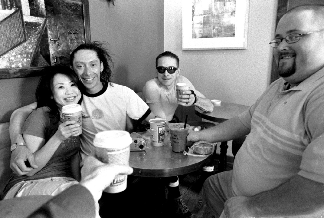 coffee, espresso, barista, Java Hyde Park, Boise, North End, black and white photography