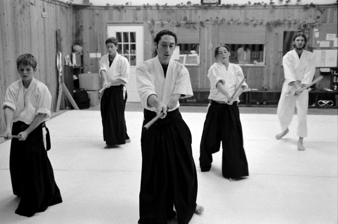 Teens, Aikido, Bokken, Dojo