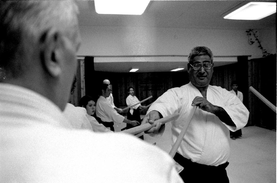 Francis Takahashi Shihan, Aikido, Bokken, Jo, Black Belt, Martial Art