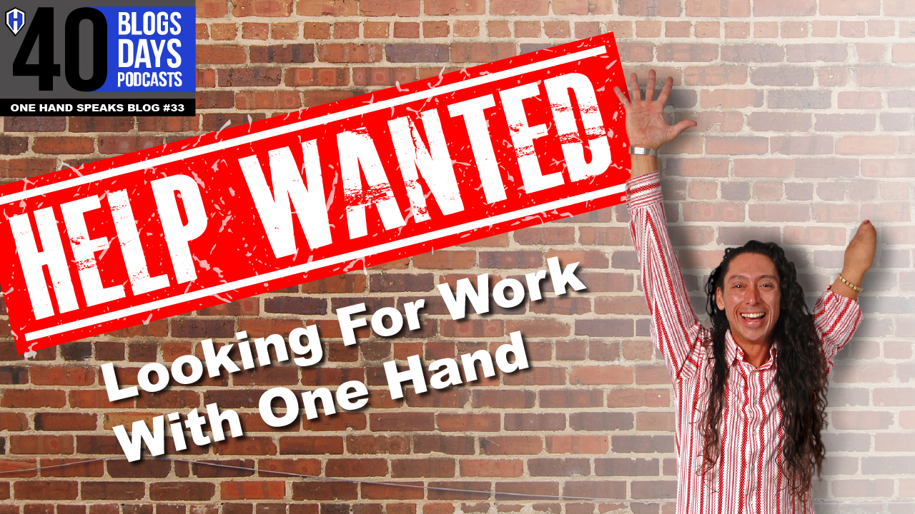 Hiring, Disability, Help Wanted, Schedule A, discrimination, ADA, One Hand