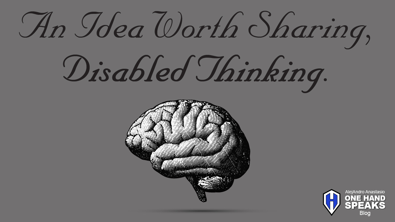Disabled Thinking, TED Talks, TEDx, TEDxBoise, Blog, Storytelling, Disabled, The Power of Sleeping