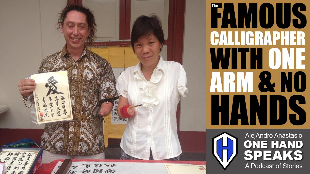 Calligraphy, Melaka, Malaysia, No Hands, Disability, Podcast, Storytelling, Travel