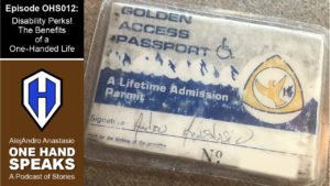 An image of the Golden Access Passport for a lifetime of Admission into National Parks and Federal areas.