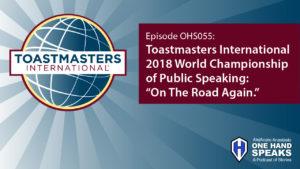 Toastmasters International, World Championship of Public Speaking, Podcast, Storytelling, District 15, Boise, Idaho