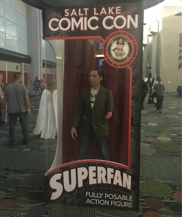 Salt Lake City Comic Con, Superhero, Sci-Fi, Science Fiction,
