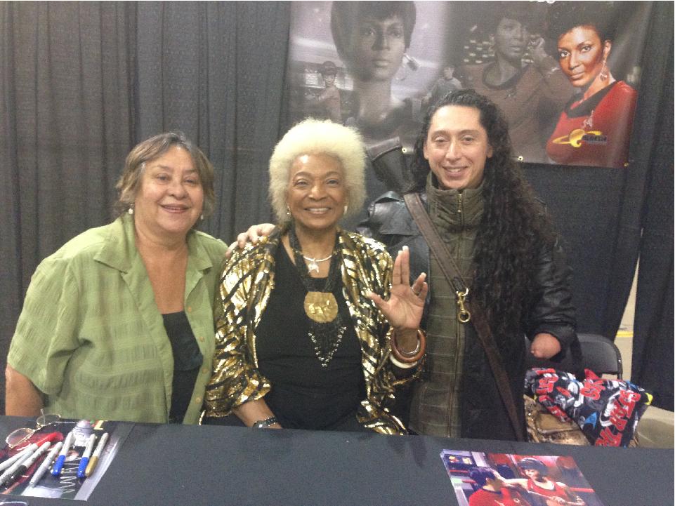 Nichelle Nichols, Lieutenant Uhura, Tree City Comic Con, Comic Con, Star Trek, Science Fiction, Family Tradition