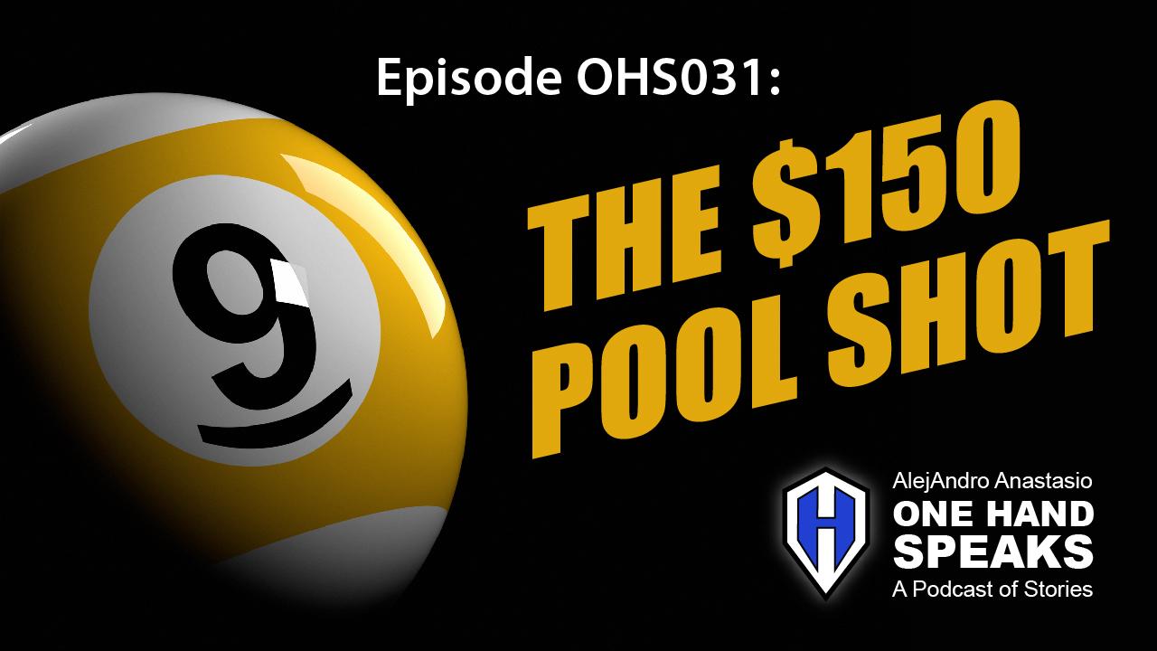 9-Ball, gambling, billiards, pool hall, pool table, handicap, disability, podcast, storytelling, pocket billiards