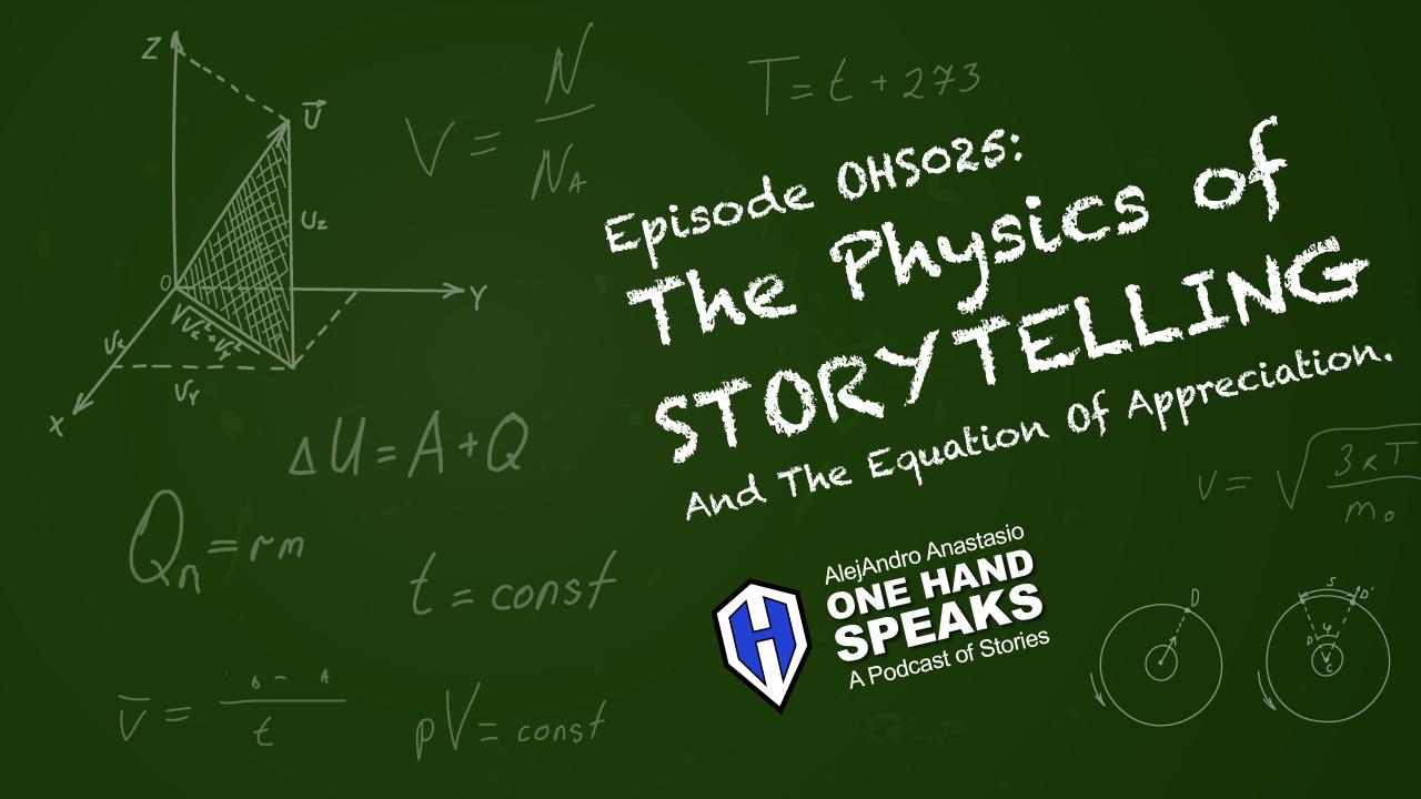Physics, Storytelling, Podcast, University of Washington, Seattle, Inspiration