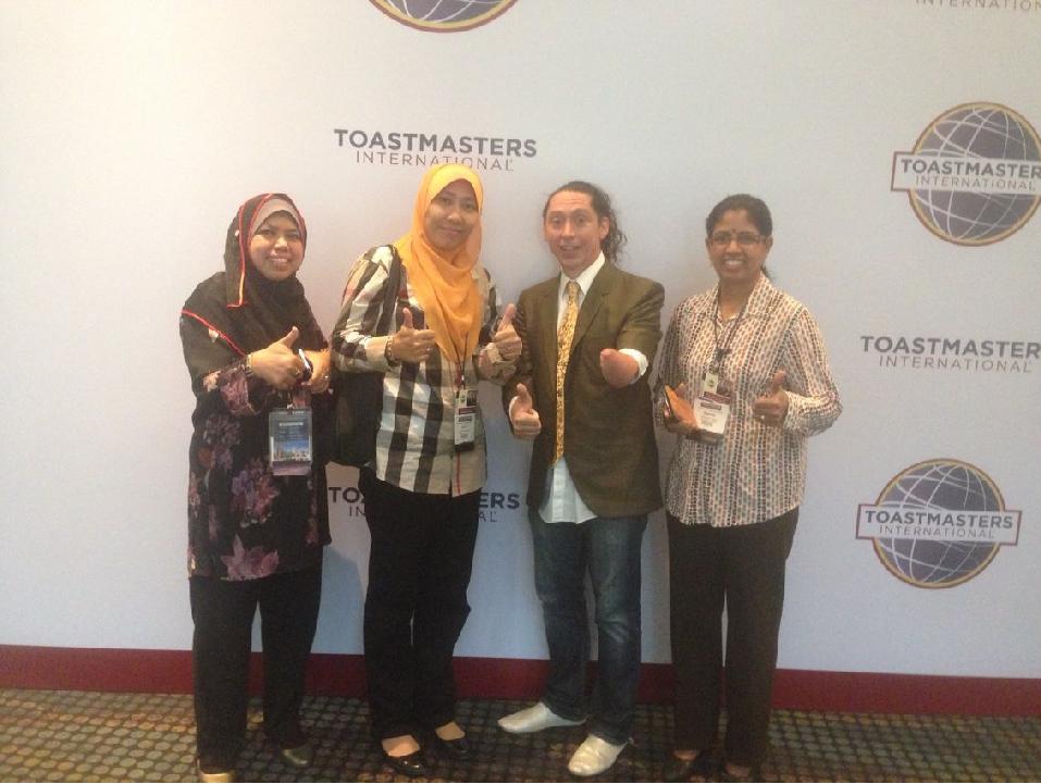 Toastmasters International, speaking, world championship of public speaking, Malaysia